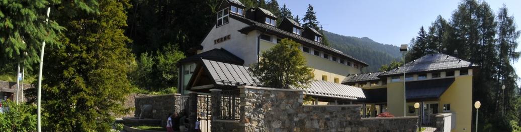 Stabilimento delle Terme di Vetriolo in Trentino